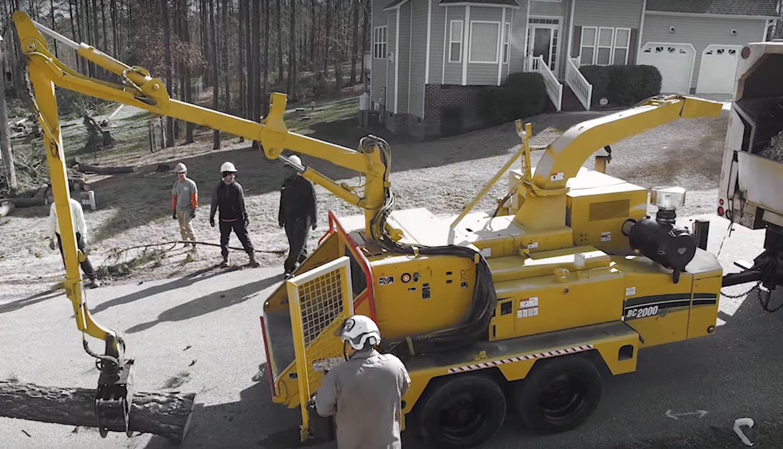 kansas city tree service chipper