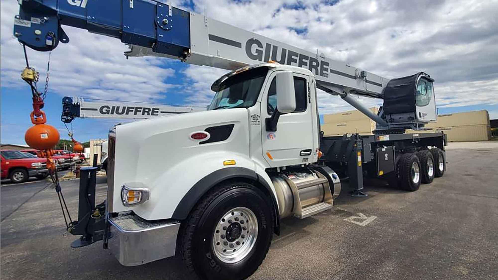 kansas city tree service crane 40 ton maintex 40124 for tree removal